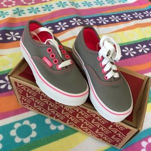 New VANS girls shoes